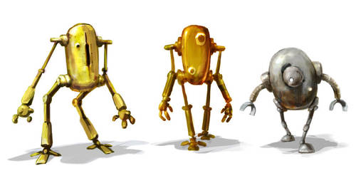 Robots tin by MarcinTurecki