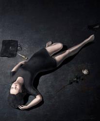 girl fell by MarcinTurecki