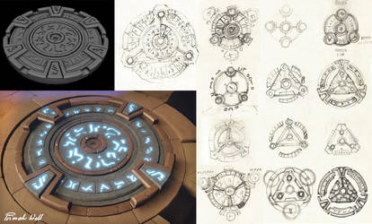 Archaica: The Path Of Light - Primal Well concepts by MarcinTurecki