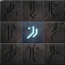 Achievement icons in Archaica by MarcinTurecki