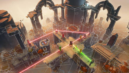 Viewing Archaica maps through bounding boxes 01 by MarcinTurecki