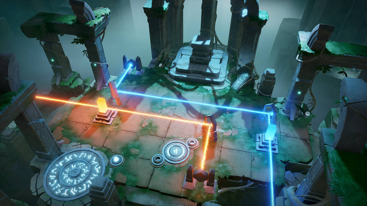 Archaica: The Path of Light - Altar of Glory level by MarcinTurecki