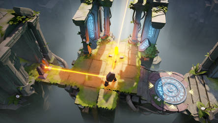 Archaica: The Path of Light - Lightwell level by MarcinTurecki