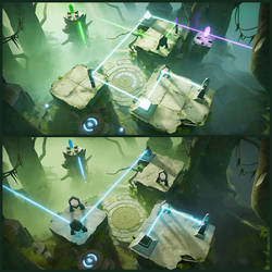 Archaica: The Path of Light - Jungle level by MarcinTurecki