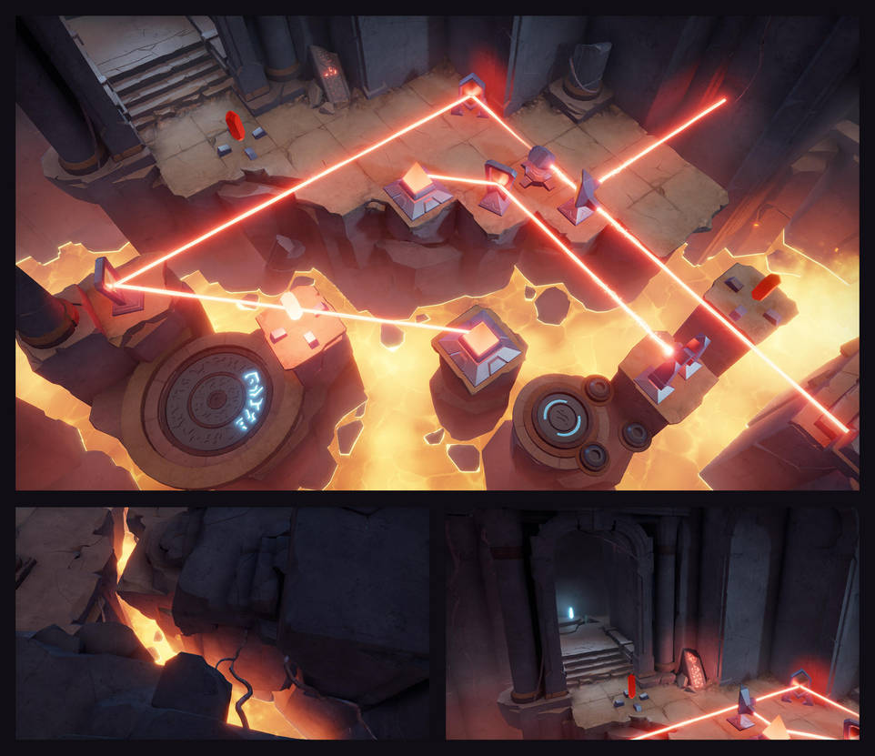 Archaica: The Path of Light - Crystal Mines shots by MarcinTurecki