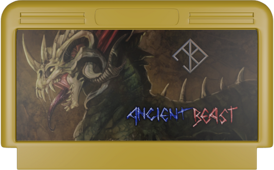 Ancient Beast NES cartridge by DreadKnight666