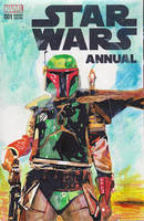 Boba Fett3 on Star Wars Sketchcover by skyscraper48