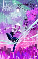 Spider Gwen by skyscraper48