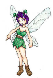 fairy by Pochithedog