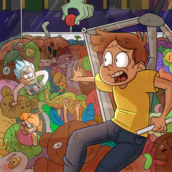 Rick and Morty Contest Entry by smeriic