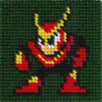 DWN. 012 Quick Man Cross Stitch by ZetaGame
