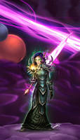 The Warlock of Netherstorm by yamer