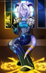 Commission: Midnight Priest by yamer