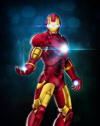 The Man of Iron by yamer