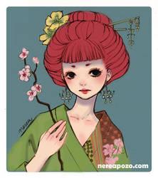Cute Redhead by keerakeera