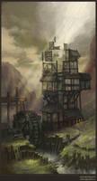 The mill by Jonik9i