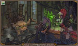 Steampunk. by Jonik9i