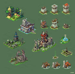 Buildings for game 2 by Jonik9i