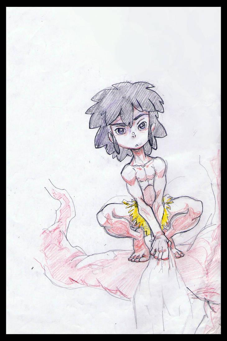 mowgli by warithscraps