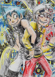 Soul Eater - Best Buds by Hukkis