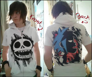 Gorillaz-hoodie by Hukkis