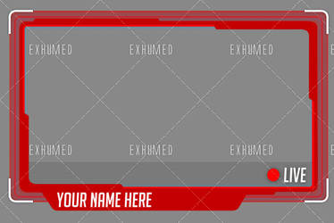 Twitch Overlay webcam #2 by 3xhumed