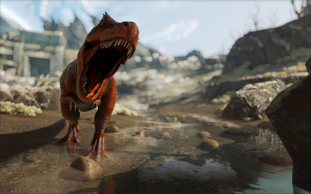 ark survival evolved trex by 3xhumed on deviantart