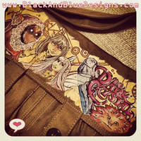 Commissioned Dark Crystal Messenger Bag by Chylde