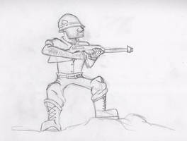 Soldier Guy by Zoph42