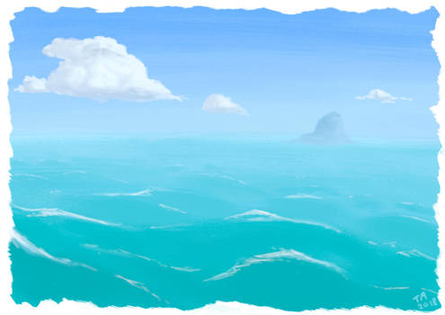 Bright Ocean by Zoph42