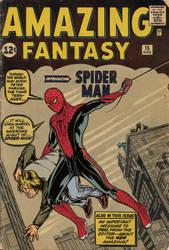 Amazing Fantasy #15 - movie costume tribute by iangoudelock