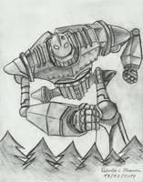 The Iron Giant by EXIronRob