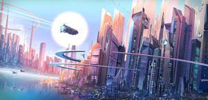 Utopian Metropolis by Francoyovich