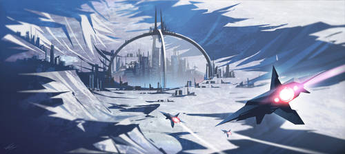 Moonbase by Francoyovich