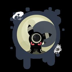 Umbreon Splat by SteveKdA