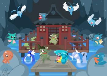 The Dragon Dance - group. by SteveKdA
