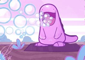 Shiny Bubbles by SteveKdA