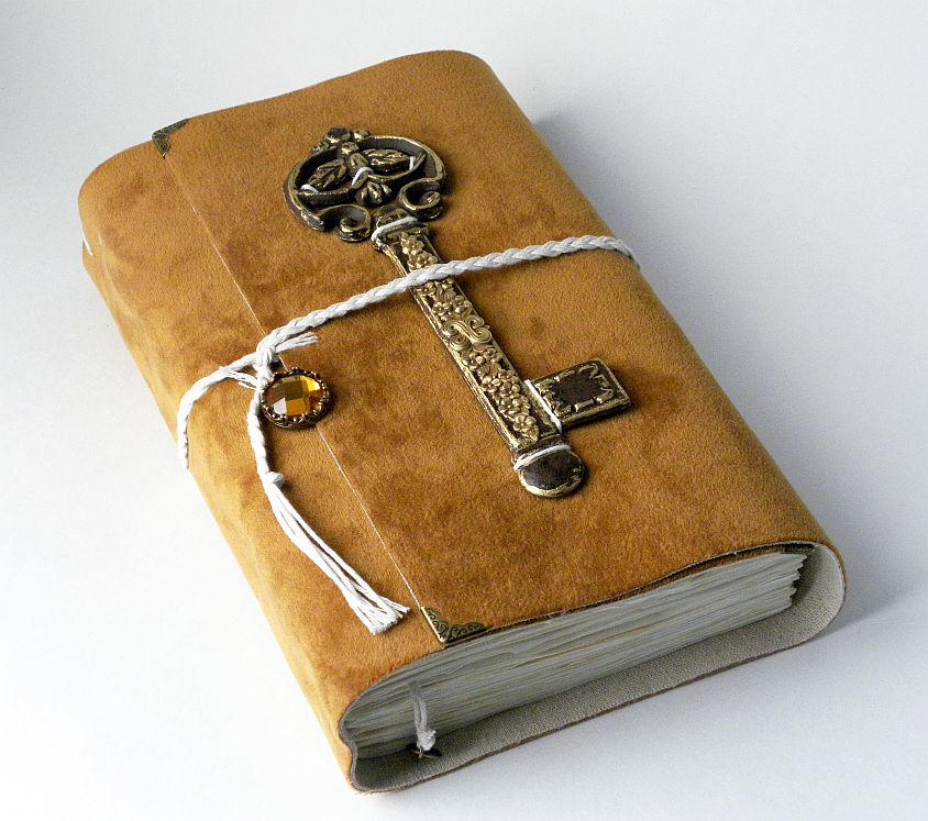 Grimoire spell book stock by moxylyn