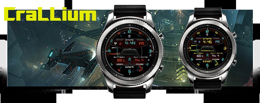 Modgorilla-crallium-watchface-banner by M0DG0RiLLA