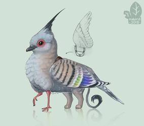 Crestling by nybird