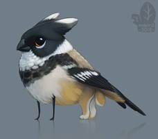 White-collared Gryphlett by nybird