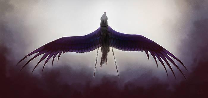 Inktober - 18. Escape by nybird