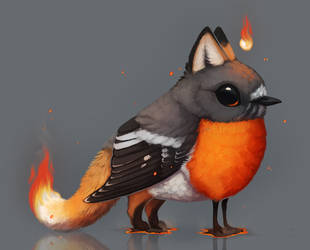Inktober - 28. Burn by nybird