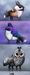 Custom Gryphletts by nybird