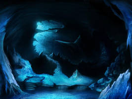 Ice cave by RagingAngel