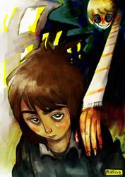 psychosis - for zine by beagleamarelo