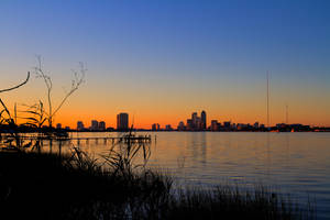 Duval Sunset on the St. Johns by RoyalImageryJax