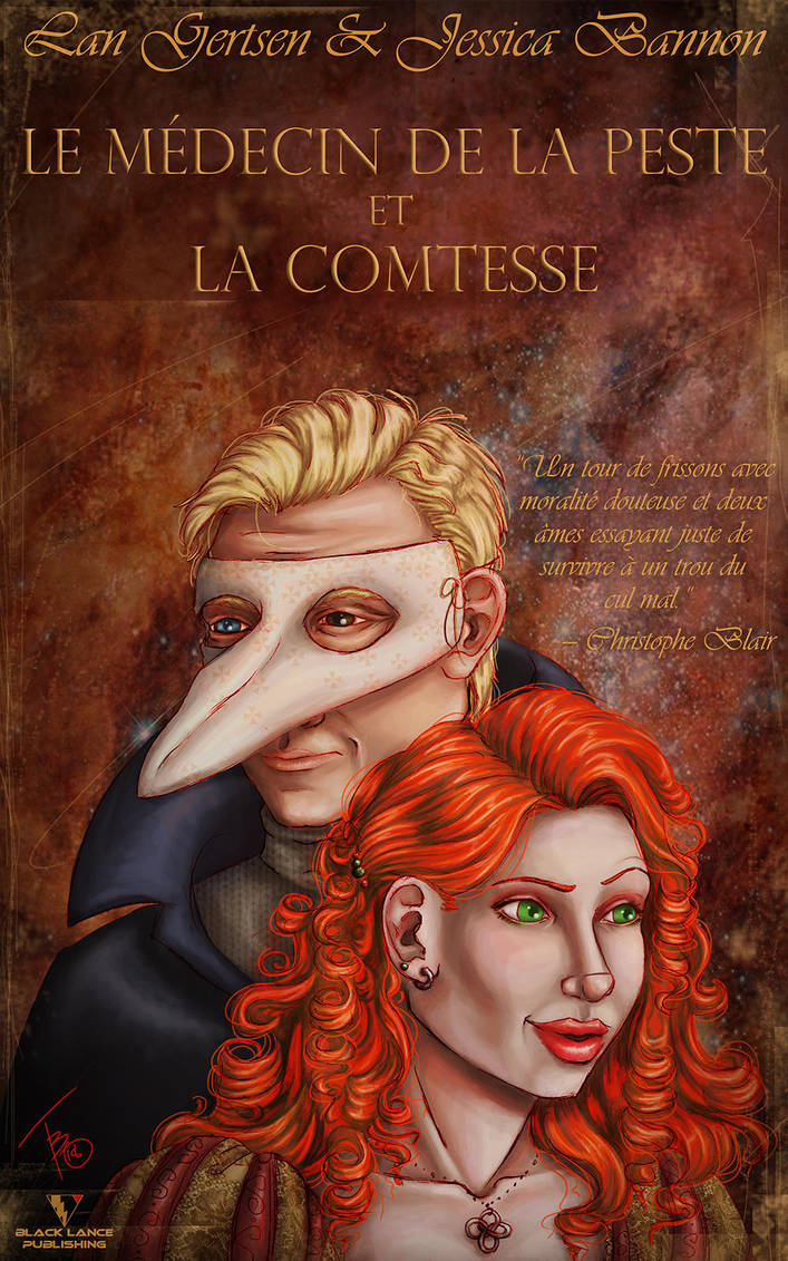 The Plague Doctor and the Countess by AirenWoodmoon