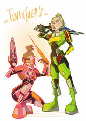 Twin Shepard by GPinos