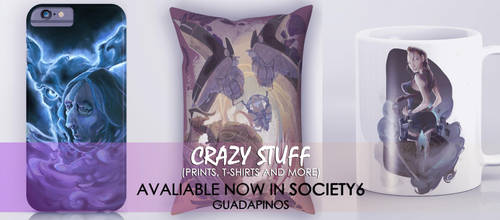CRAZZY STUFF AVALIABLE NOW! by GPinos
